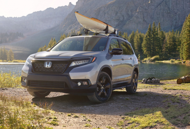Мировая премьера нового пятиместного кроссовера Honda Passport