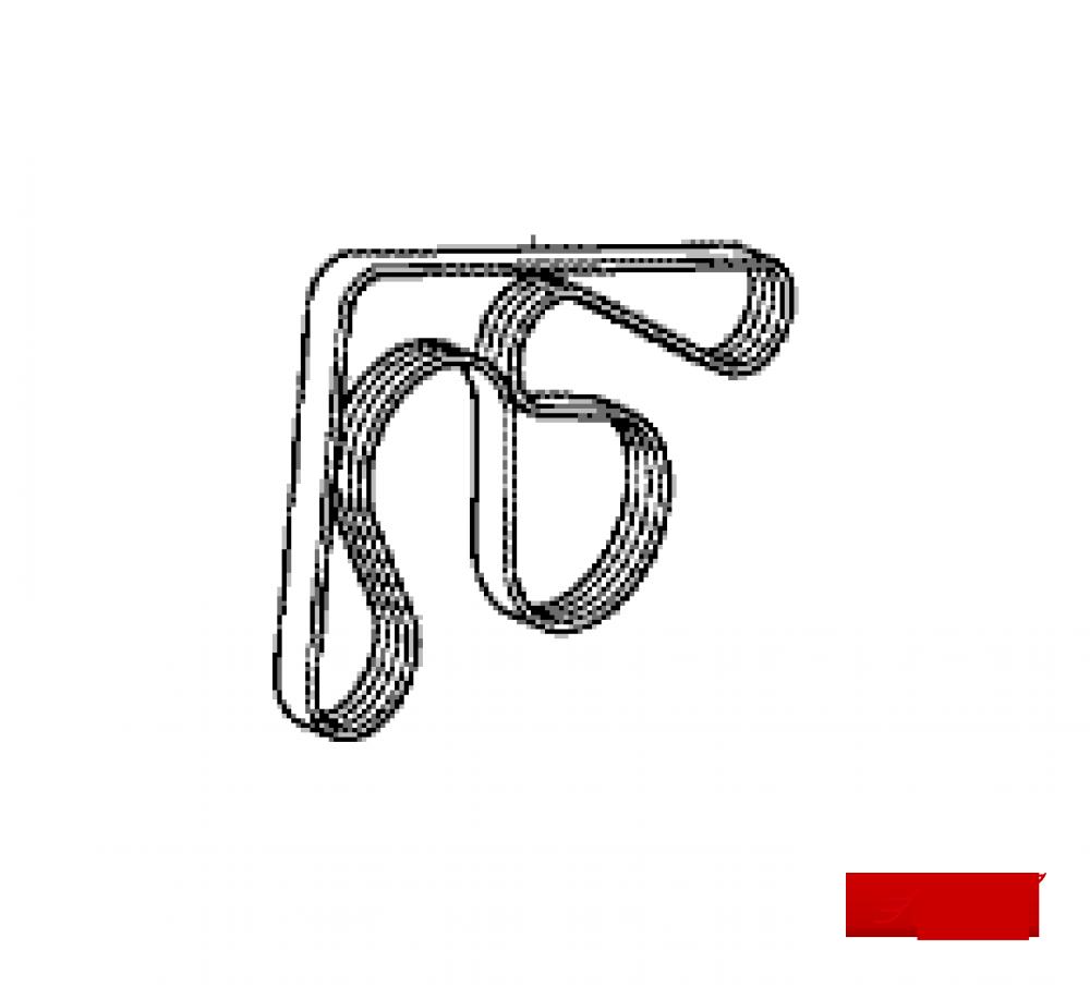 ремень поликлиновый honda crv 3