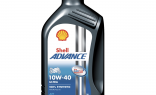 Моторное масло SHELL Advance 4T Ultra 10W-40 1 литр для мотоциклов